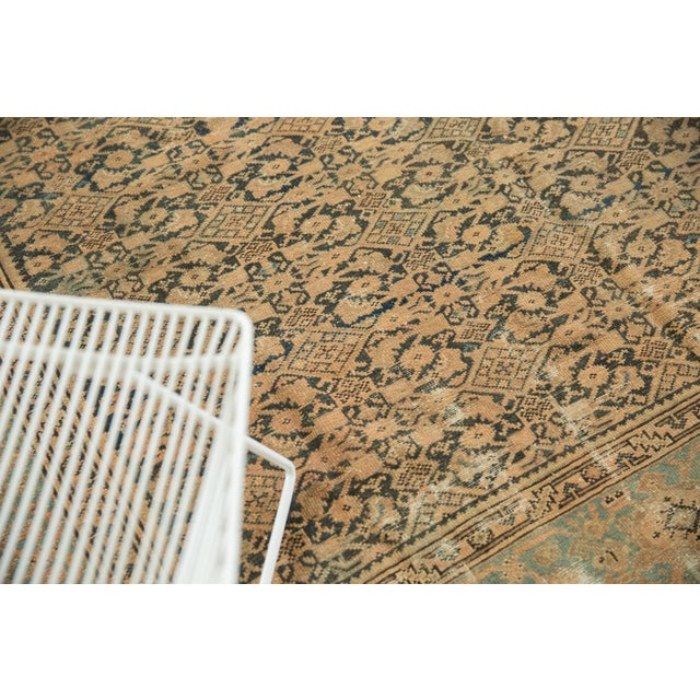 "Vintage Distressed Malayer Carpet - 7' X 10'2"" For Sale - Image 11 of 13"