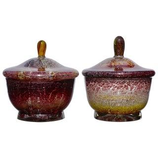 Two Wmf Ikora Lidded Bowls Art Deco, Midcentury For Sale