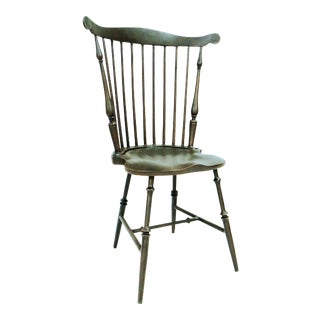 Fanback Outdoor Chair in Harvest For Sale