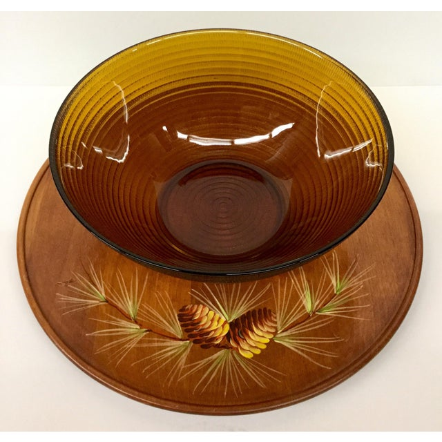 Mid-Century Modern Mid Century Modern Soup or Dip Serving Set For Sale - Image 3 of 9