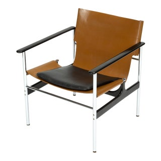 Model 657 Lounge Chair by Charles Pollock for Knoll For Sale