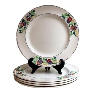 1925 Art Deco English Spode Dinner Plates - Set of 6 For Sale
