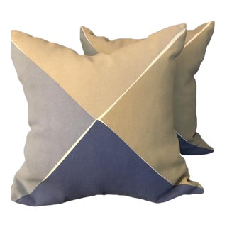 Contemporary Serena & Lily Pillows - A Pair For Sale