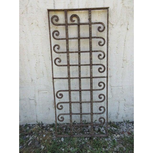 Victorian Iron Gate Window Garden Fence Door - Image 2 of 6