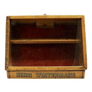 Midcentury Henri Wintermans Cigar Club / Shop Display For Sale
