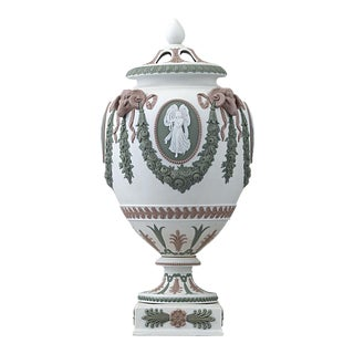 Wedgwood Tri-Color Potpourri Urn