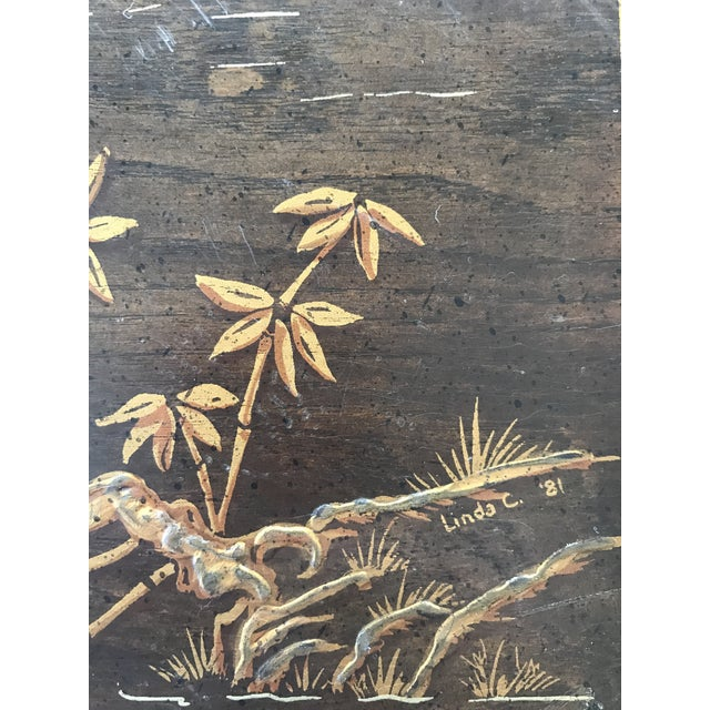 Henredon Asian Chinoiserie Inlaid Coffee Table - Image 5 of 5