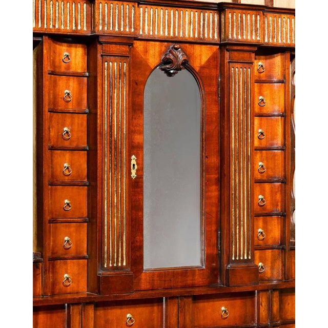 Mid 18th Century Chippendale Period Georgian Secrétaire For Sale - Image 5 of 8