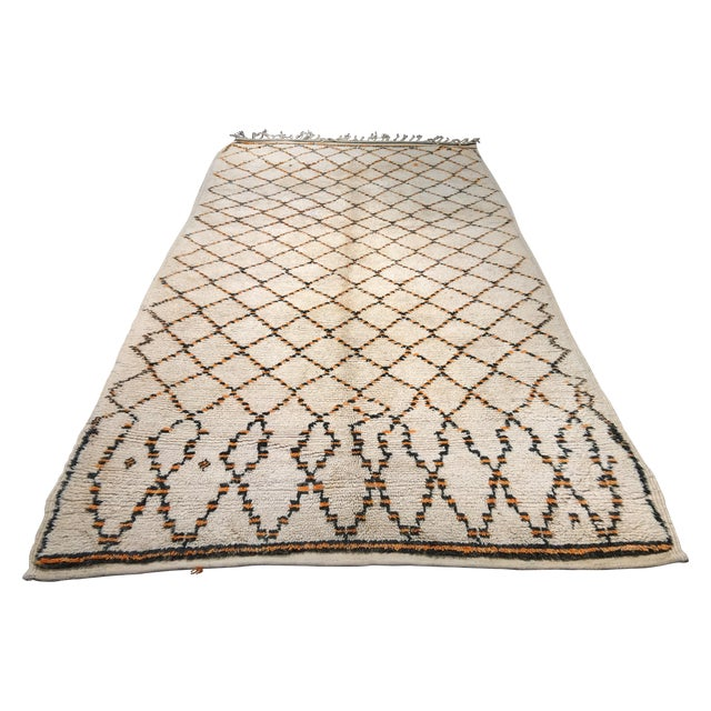 """Bellwether Rugs Moroccan Atlas Mountains Rug - 5'7"""" 9'7"""" For Sale"""