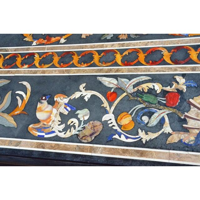 Roman Renaissance Pietra Dura (Pietre Dure) Table For Sale - Image 8 of 11