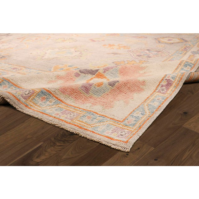 Islamic Pasargad Turkish Oushak Collection Wool Area Rug - 9′9″ × 13′6″ For Sale - Image 3 of 6