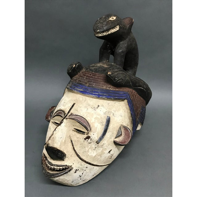 2000 - 2009 African Art Tribal Art Igbo Mask For Sale - Image 5 of 8