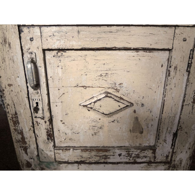 French Late 19th Century Rustic French One Door Cabinet For Sale - Image 3 of 12