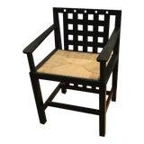 Image of Charles Renni Mackintosh Candida Black Ashwood Cottage Chair For Sale