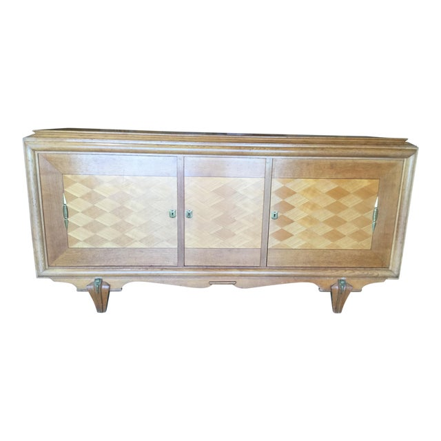 1930s Vintage French Art Deco Credenza For Sale
