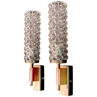 French Mid-Century Sconces - A Pair For Sale