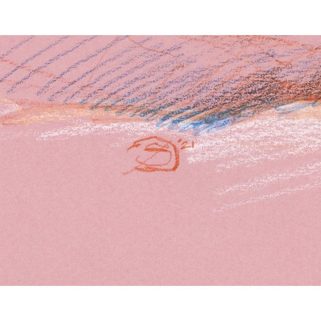 """Paper """"Figure 11"""" Contemporary Abstract Figurative Mixed-Media Drawing by David Orrin Smith For Sale - Image 7 of 7"""