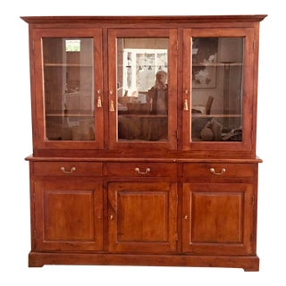 Contemporary Traditional Wooden Bookcase For Sale