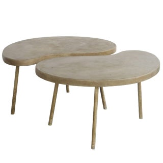 "Modern ""Ying Yang"" Coffee Table or Side Table For Sale"