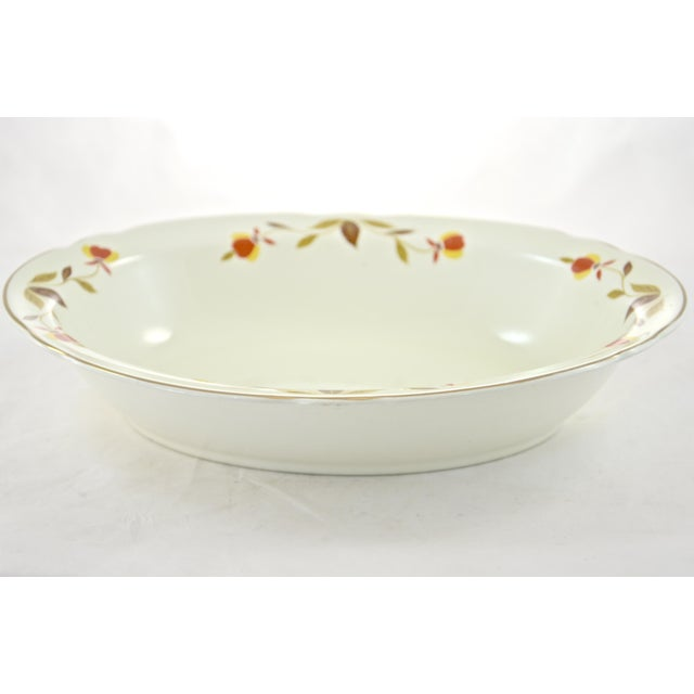 Leaf & Vine Oval Bowl For Sale - Image 4 of 5