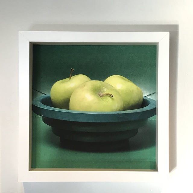 2010s Green to the 3rd Power Original Framed Photograph For Sale - Image 5 of 5