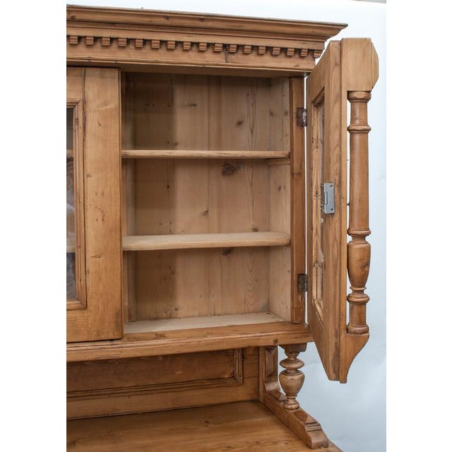 Pine Glazed Buffet For Sale - Image 4 of 10