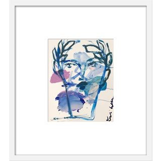 "Medium ""Roman Face"" Print by Leslie Weaver, 20"" X 23"""