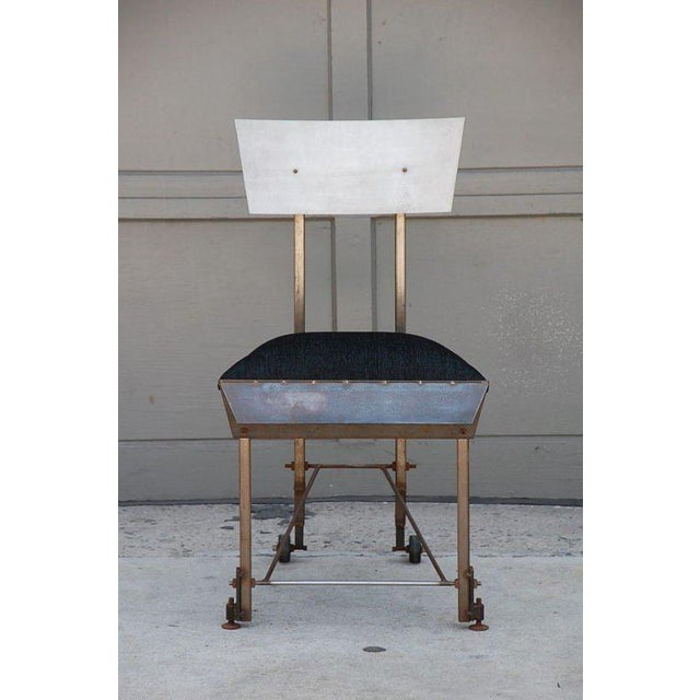 Set of 8 One-Of-A-Kind Modernist Dining Chairs For Sale - Image 4 of 12