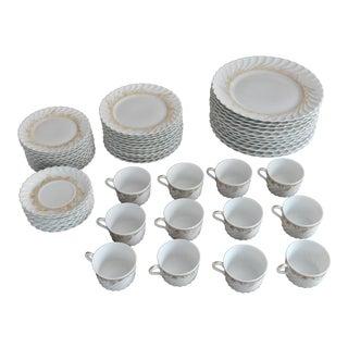Haviland Limoges Ladore Dinnerware - Set of 60
