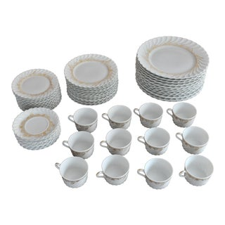 Haviland Limoges Ladore Dinnerware - Set of 60 New, Never Used! For Sale