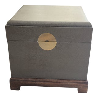Mid Century Modern Trunk For Sale
