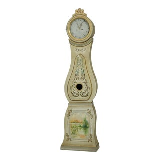 1751 Painted Mora Clock