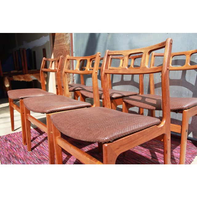 1960s D-Scan Teak Dining Chairs - Image 7 of 9