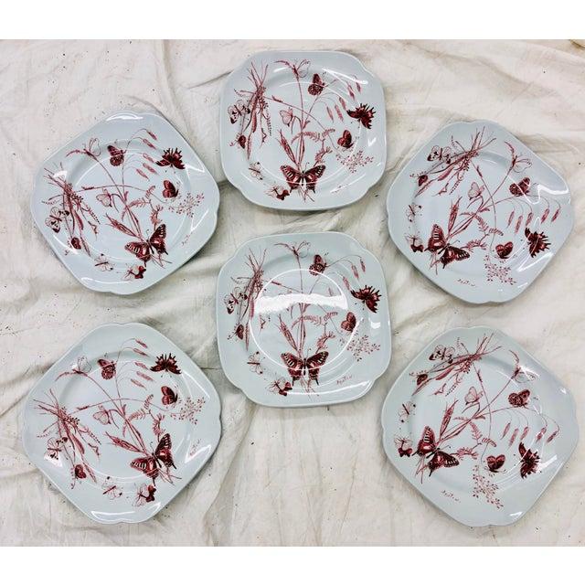 Ceramic Vintage Set Cecil Beaton Spode Plates For Sale - Image 7 of 7