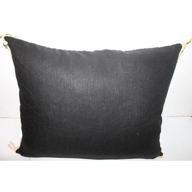 Yea Navajo Indian Weaving Pillow For Sale - Image 4 of 6