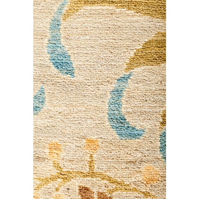 """Arts & Crafts Arts & Crafts Hand-Knotted Wool Rug - 9'10"""" X 13'5"""" For Sale - Image 3 of 4"""