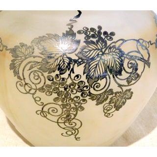 1920s Vintage Art Nouveau Silver Overlay Vase Preview