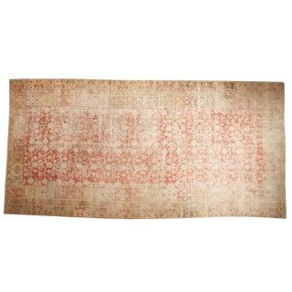 "Antique Distressed Khotan Carpet - 8'5"" X 17'1"""