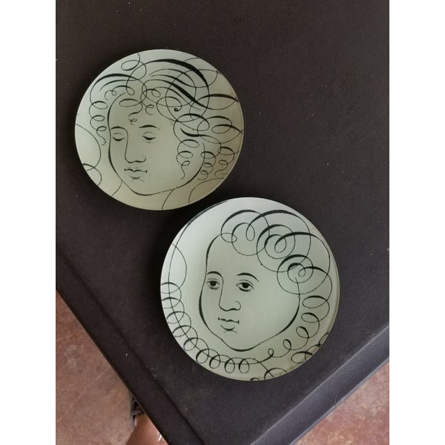 Glass John Derian Glass Plates - a Pair For Sale - Image 7 of 7
