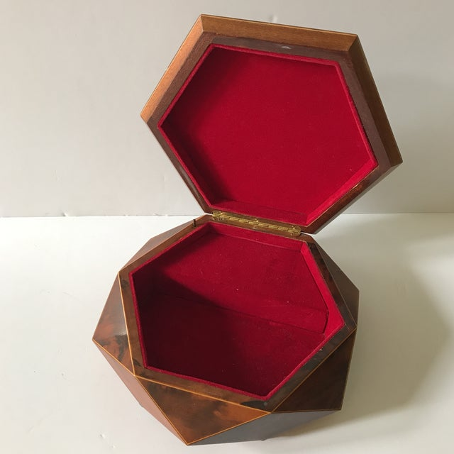 Traditional Reuge Sorrento Wood Jewelry Box For Sale - Image 3 of 6