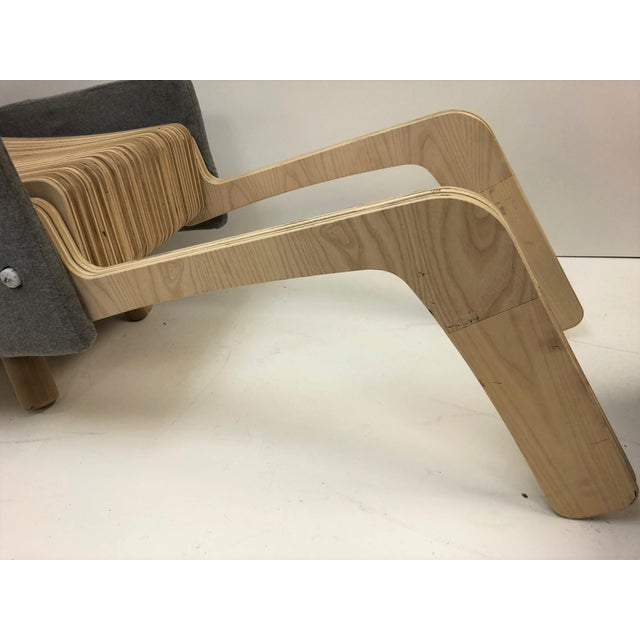 2000 - 2009 Custom Plywood Lounge Chair For Sale - Image 5 of 9
