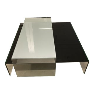 Design Within Reach Niels Bendtsen's Glass Nesting Coffee Tables For Sale