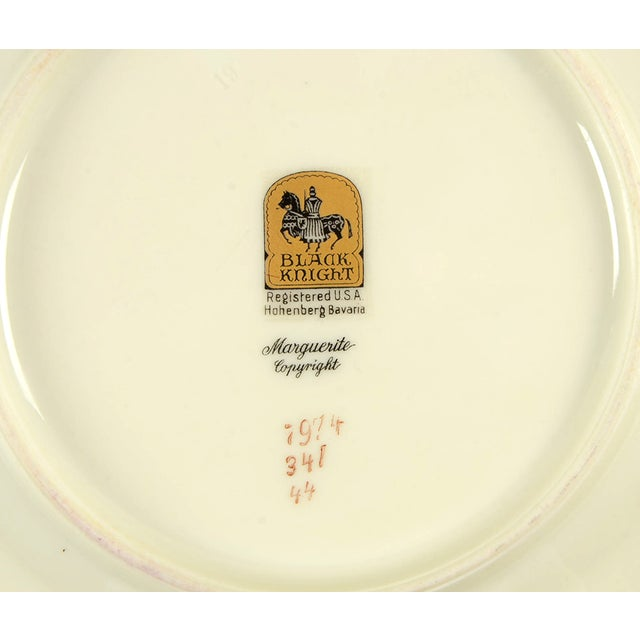 Black Knight Margarite Salad Plate - Set of 8 For Sale In Greensboro - Image 6 of 7
