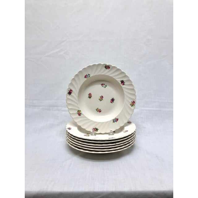 Ceramic Royal Staffordshire Style Soup Bowls - Set of 7 For Sale - Image 7 of 7