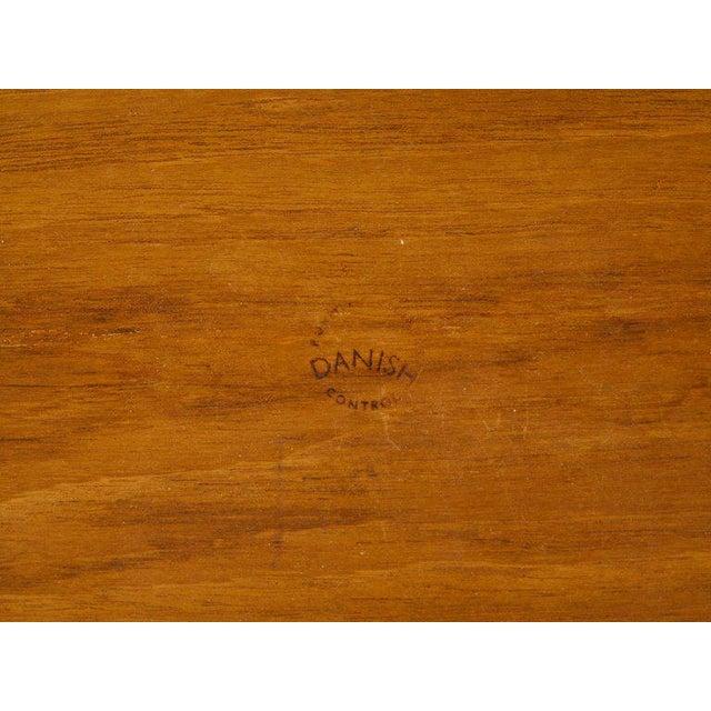 Pair of Danish Mid Century Modern Teak Side Tables For Sale - Image 12 of 13