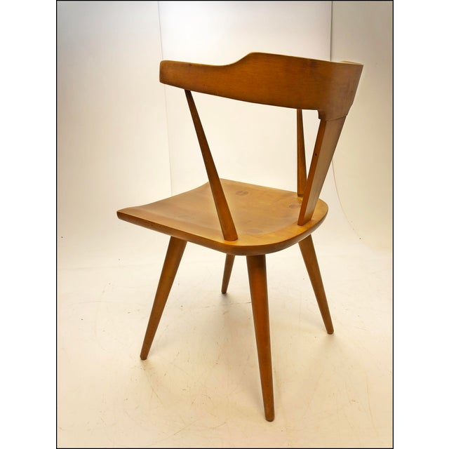 Brown Mid Century Modern Paul McCobb Planner Group Desk & Chair For Sale - Image 8 of 13