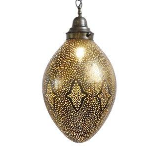 Brass Work Egg Lantern For Sale
