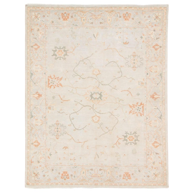 Jaipur Living Phillips Hand-Knotted Floral Area Rug - 8′ × 10′ For Sale