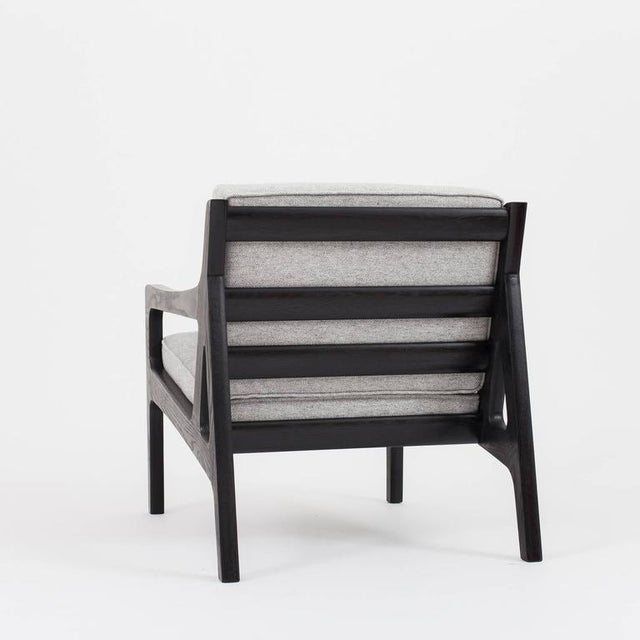 Not Yet Made - Made To Order Asa Pingree Pilar Lounge Chair in Ebonized Oak For Sale - Image 5 of 11