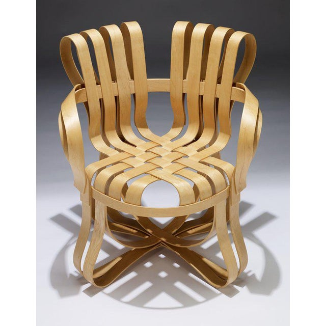 Selling a pair of Frank Gehry cross check chairs for Knoll. 100% authentic and marked. Looks like they were re- glued by...